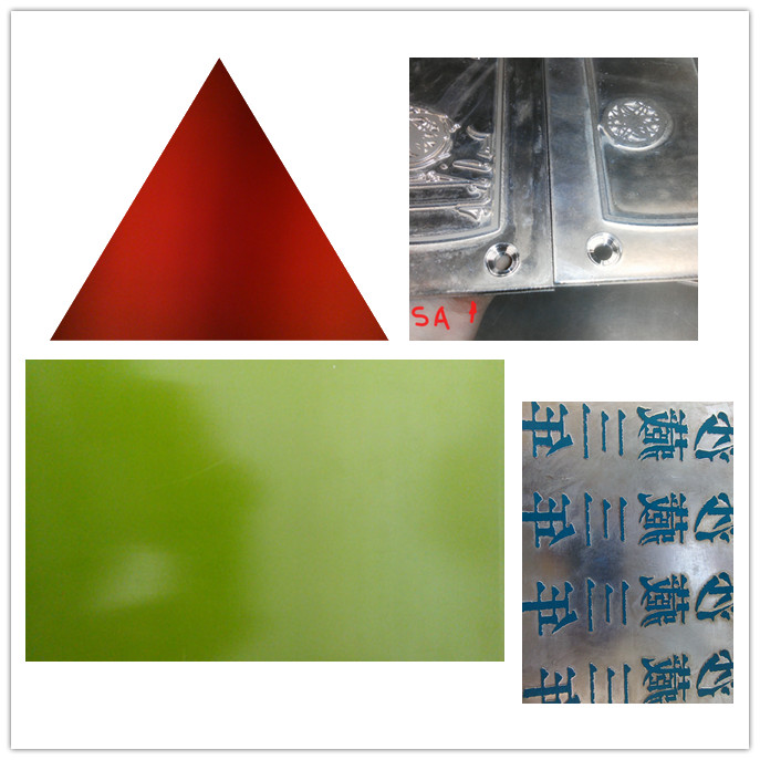 Pre coated magnesium etching plates